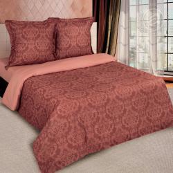 """Купить постельное белье поплин гладкокрашеный """"Византия коричневая"""" в Самаре"""