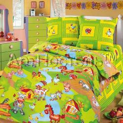 """Купить детское постельное белье из бязи """"Хуторок"""""""