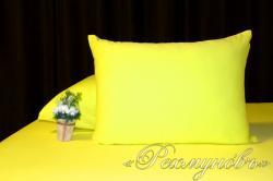Купить желтые трикотажные наволочки на молнии в Самаре
