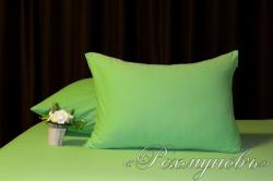 Купить зеленые трикотажные наволочки на молнии в Самаре