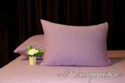 Купить лиловые трикотажные наволочки на молнии в Самаре