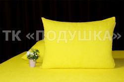 Купить желтые махровые наволочки на молнии в Самаре