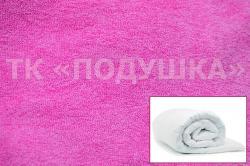 Купить розовый махровый пододеяльник  ТМ Подушка в Самаре